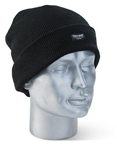 Thinsulate-Mütze Schwarz