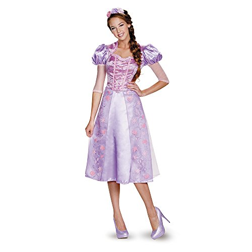 Disguise Women's Rapunzel Deluxe - Deluxe Storybook Princess Kostüm