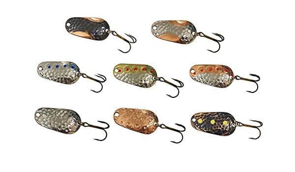 Oldstream Blinker 3,5cm 6g Forellenblinker zum Spinnfischen auf Forellen