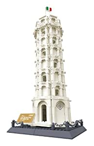 LEANING TOWER OF PISA Italy - BUILDING BLOCKS 1392 pcs set by Wange
