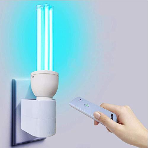 Lámpara de Cuarzo UV para la desinfección Esterilizador de luz Ultravioleta bactericida Lámpara Desodorante...