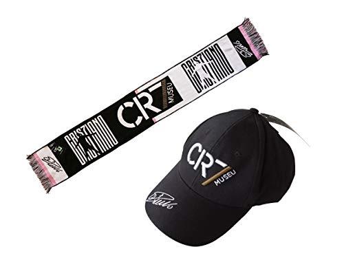 Set Tifoso Cristiano Ronaldo CR7 + Schal Jacquard CR7 002 Offizielles Produkt