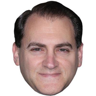 Celebrity Cutouts Michael Stuhlbarg Maske aus Karton (Brille Steve Jobs)