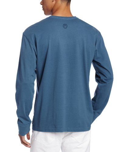 Life is Good Herren Crusher Take it Slow Long Sleeve Tee Pacific Blue