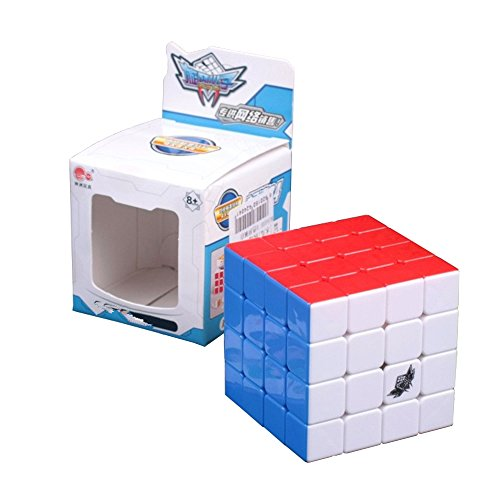 Wings of wind - Cyclone Boy Magic Cube Ultra-Smooth Magic Puzzle Würfel Colorized Stickerless Würfel (4x4) (Cyclone Boys 3x3x3)