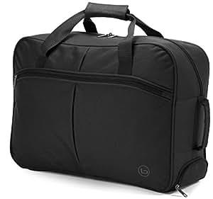 small wheeled holdall travel bag hand luggage gym maternity 3253 black luggage. Black Bedroom Furniture Sets. Home Design Ideas
