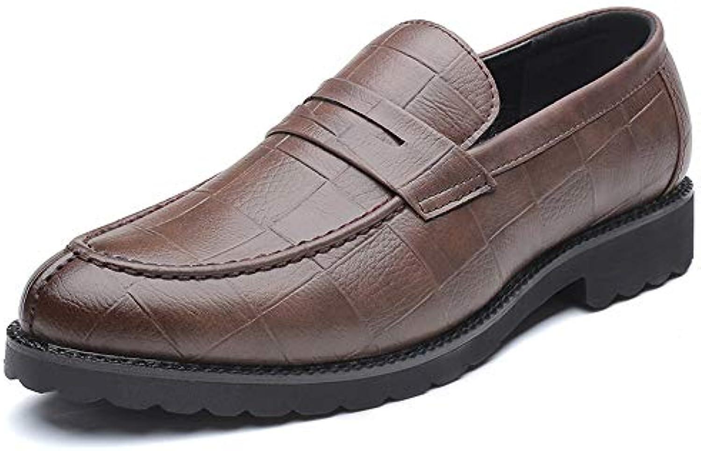 MXL Men's Fashion Oxford Casual Classic British Style Modello di griglia Traspirante Slip On Scarpe Formali Scarpe... | Ricca consegna puntuale  | Uomini/Donne Scarpa