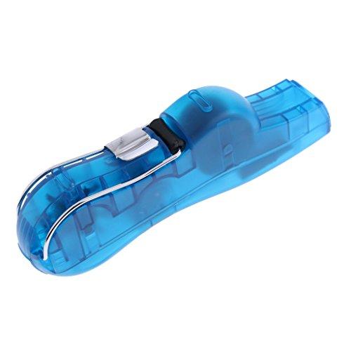MagiDeal 1 Stück Fahrrad Kettenreiniger Tragbare kleine Fahrradkettenreiniger - Blau