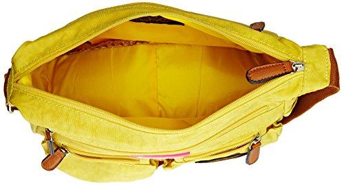SwankySwans - Norma, Borsa a tracolla Donna Giallo (Yellow (Mustard))