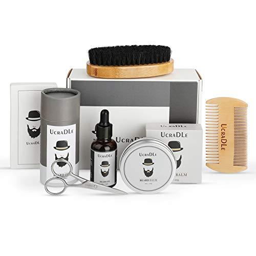 Bartöl Bartpflege mit Vegane Bio Naturkosmetik für Herren 30ml (6 set)