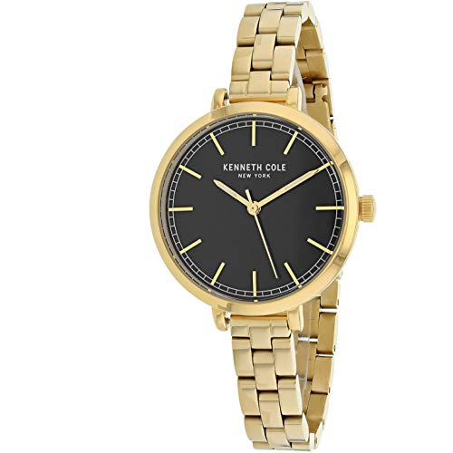 Kenneth Cole Classic Femme 36mm Doré Quartz Montre KC50263010