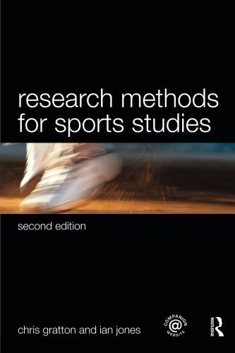 Sports Coaching Package Brunel University: Research Methods for Sports Studies by Chris Gratton (2010-01-30)
