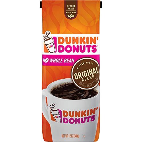 Dunkin Donuts Original Blend whole Bean tostatura media Coffee 340g