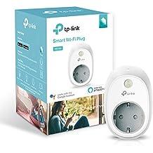 TP-Link Presa Wi-Fi HS100, Smart Plug Compatibile con Alexa e Google Home, Controllo dei Dispositivi Ovunque Mediante Kasa App, Nessun hub esterno necessario (presa schuko)