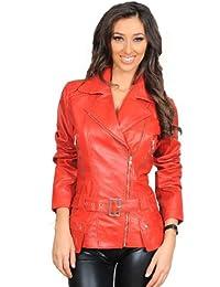 Suchergebnis auf für: Rote Lederjacke Damen A1
