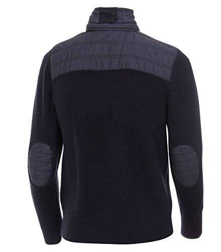 Michaelax-Fashion-Trade - Gilet - Uni - Manches Longues - Homme Blau (135)