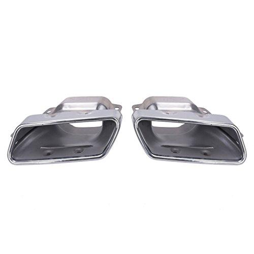 Chrome Auspuff Muffler Auspuffendrohr Tipp für Mercedes Benz CLA ML CLASS W164 W221 A45 CLA45 2013-2015