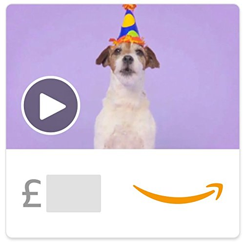 Woofy Birthday (Animated) - E-mail Amazon.co.uk Gift Voucher Test