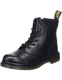 Dr. Martens Unisex Kids' Delaney brog Black T Lamper Boots