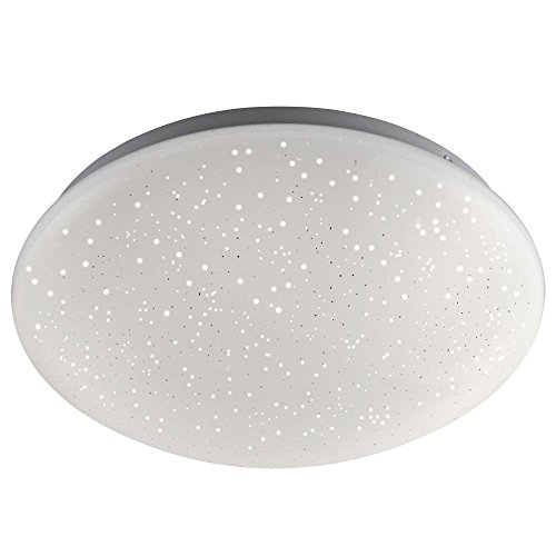 RGB LED Decken Leuchte Dimmer Fernbedienung Sternenhimmel Funkel Lampe Leuchten Direkt (Skyler)