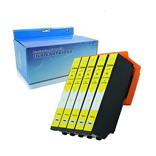 Ouguan - Cartucce di ricambio per Epson 33XL 33 XL, compatibili con Epson Expression Premium XP-530 XP-540 XP-640 XP-830 XP-900 XP-630 XP-635 5 Gelb