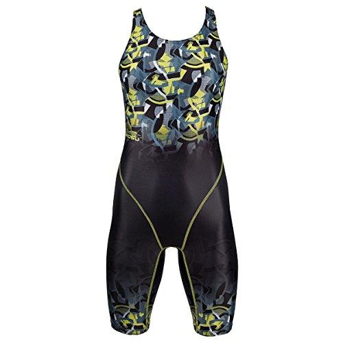 ZAOSU Wettkampf-Schwimmanzug Z-Camo für Damen und Mädchen, Größe:176/36