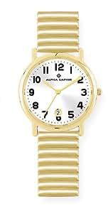 Alpha Saphir Damen-Armbanduhr 225F