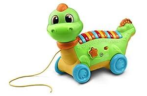 LeapFrog Lettersaurus Juguete Interactivo para bebé, Juguete Musical con Sonidos Que Introduce Letras y números, Juguete Educativo para bebés de 18 Meses, 2, 3 años de Edad