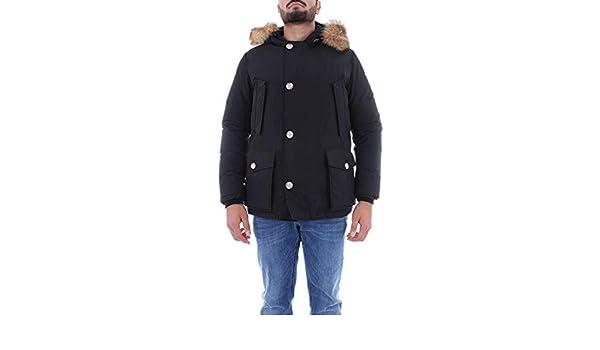 Noir Woolrich Coton Homme Blouson Wocps2739cn03blk 7qw1Ax6