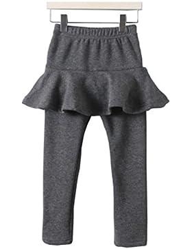 Tokkids - leggings pantalones con falda de invierno para niñas (3 - 8 años)