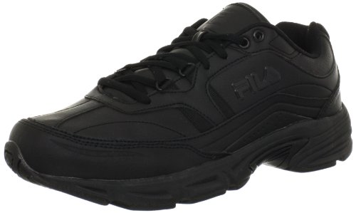 Fila Men's Memory Workshift Cross-Training Shoe,Black/Black/Black,16 4E US