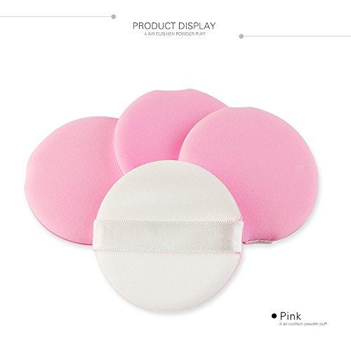 Ma Ange/MAANGE Blätterteig 4er Pack, Malloom 4pcs Makeup Foundation Schwamm Mixer Puff Puder Smooth Puff -