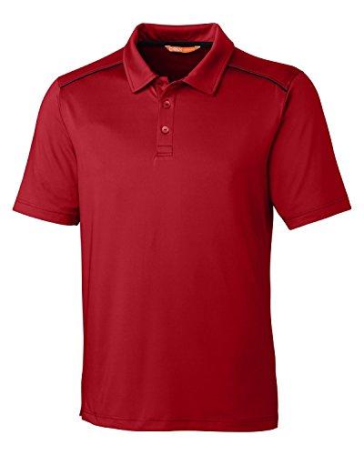 CBUK Herren Chance Polo Kardinalrot, XX-Large - Cutter Buck Golf-bekleidung