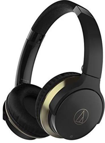 Audio-Technica ATH-AR3BTBK Wireless On-Ear Kopfhörer Bluetooth schwarz thumbnail