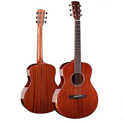 NUYI 36 Zoll Full Veneer Gitarre Mahagoni Single Board Gitarre Reisen Gitarre Mini-Gitarre -