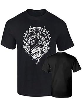 Camiseta Peaky Blinders Serie Mafia Gitana Shelby algodon calidad 190grs Premium