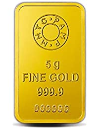 Lotus 24k (999.9) 5 gm Gold Bar