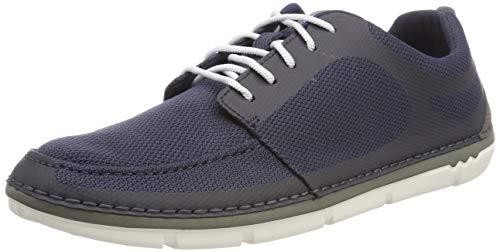 Clarks Step Maro Sol, Zapatillas para Hombre, Azul (Navy-), 47 EU