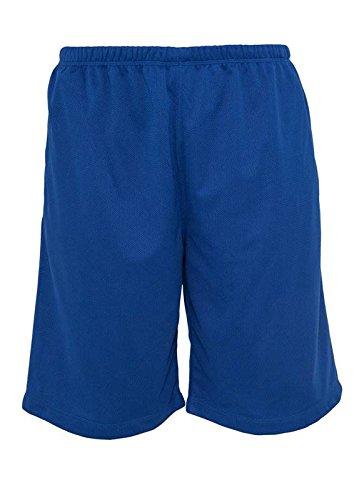 Urban Classics BBall Mesh Shorts with Pockets Herren Shorts Königsblau XS -