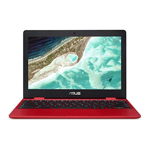 NA-DH02 29,5 cm (11,6 Zoll) HD-Display, Intel Dual-Core Celeron N3350 Prozessor (bis 2,4 GHz) 4 GB RAM, 32 GB eMMC-Speicher rot 11-11.99 inches(US Tastatur und Stecker) ()