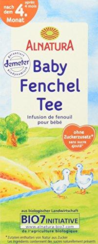 Alnatura Bio Baby-Fenchel-Tee, 8er Pack (8 x 35 g) -