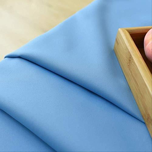 Muysmyr Polyester Fiber Blackout Vorhänge für Wohnzimmer Marine blau Vorhänge für Schlafzimmer Fenster Vorhänge w100cm x h160cm Blau (Marine-blau Vorhänge Für Schlafzimmer)