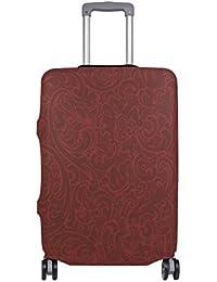 Preisvergleich für COOSUN Floral Background Print-Reise-Gepäck Schutzabdeckungen Waschbar Spandex Gepäck Koffer Cover - Passend für...