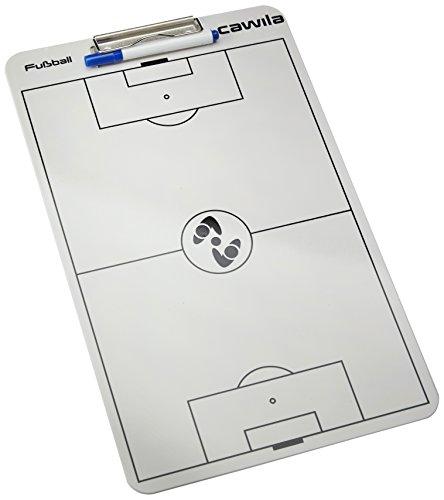 Clipboard Basketball (Cawila Klemmbrett Clipboard Fußball, Weiß, 00401701)