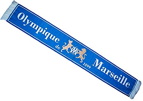 Echarpe Marseille - Echarpe OM - Collection officielle OLYMPIQUE DE