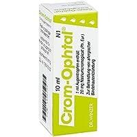 Crom Ophtal Augentropfen 10 ml preisvergleich bei billige-tabletten.eu