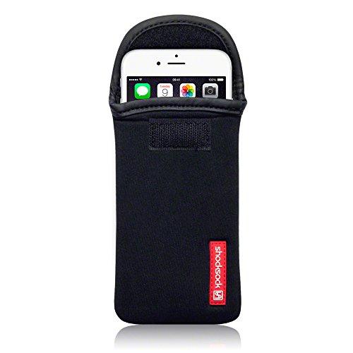 Shocksock Neopren Tasche für iPhone 6S / iPhone 6 Hülle Schwarz