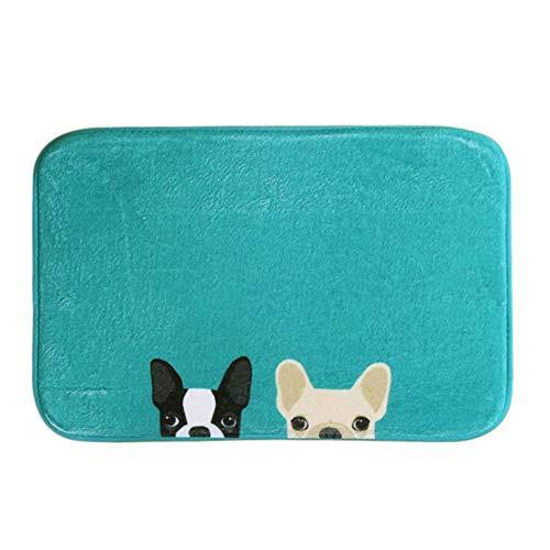 Wicemoon sala estar alfombras perro impreso Felpudo