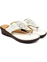 Bare Soles Gold Tinge Doctor Sole Slippers-504a