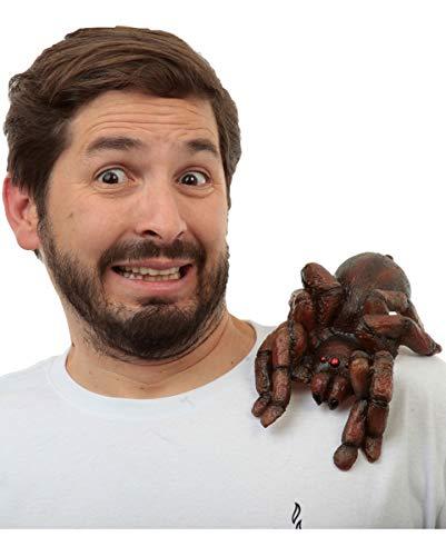 Tarantula Kostüm - Horror-Shop Tarantula Buddy zum Anklipsen auf der Schulter